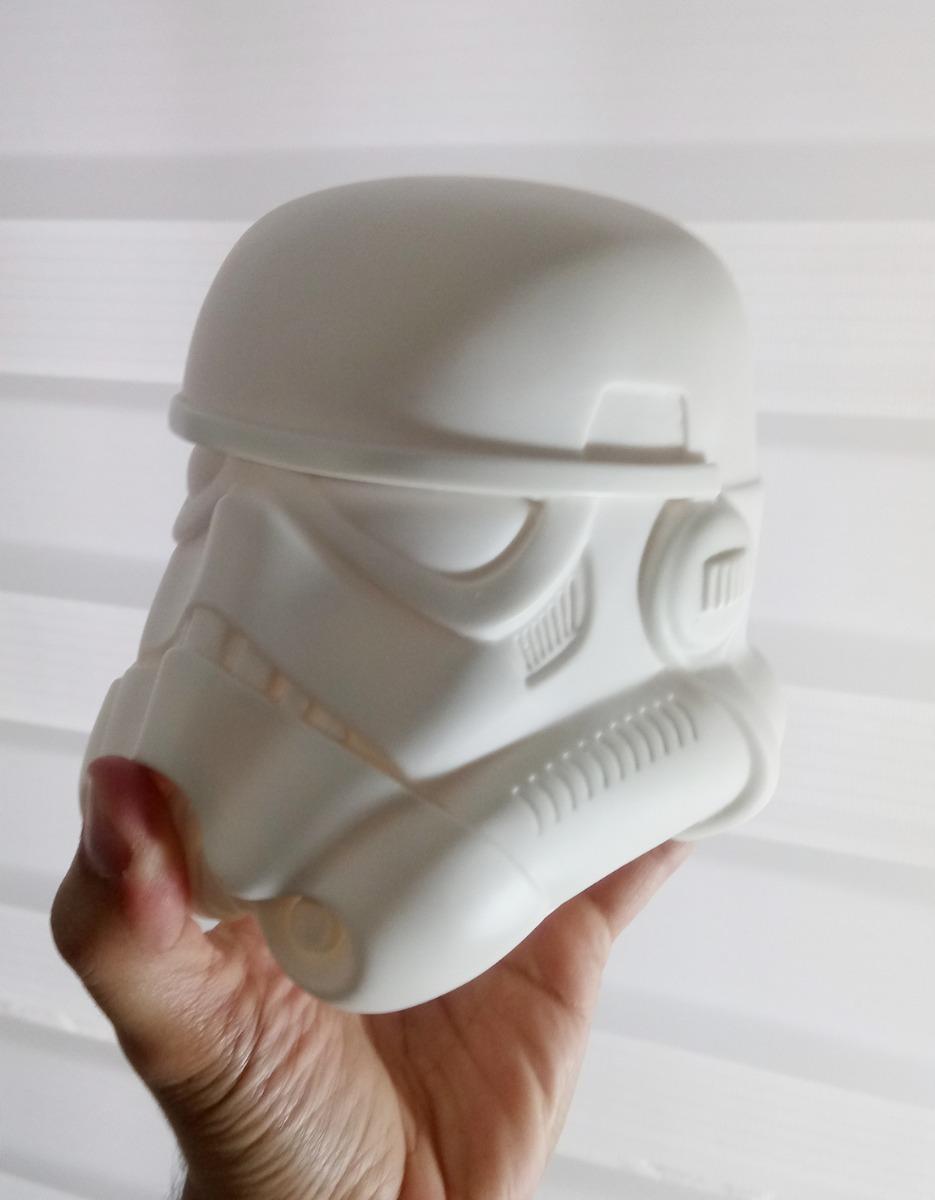 Star Wars Design A Vinyl Stormtrooper Em Branco Para Pintar R 229