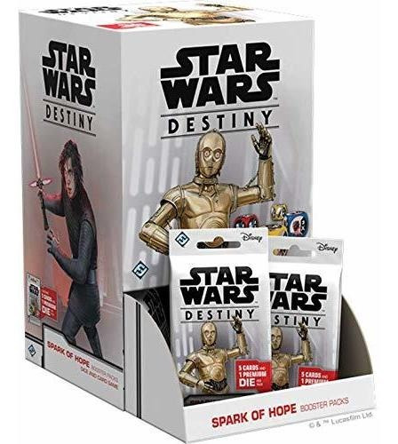 star wars destiny spark of hope booster pack display 36