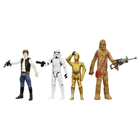 star wars digital collection 4 a nova esperança set 4 boneco