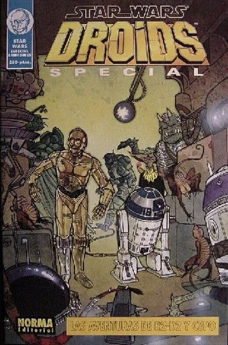 star wars / droids special / editorial norma