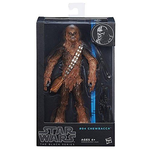 star wars el negro serie chewbacca figura # 04