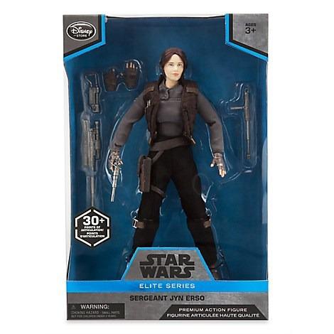 star wars elite series jyn erso premium action figure 26 cm