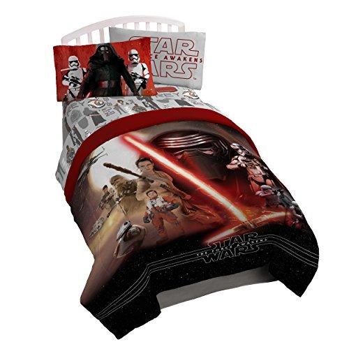star wars ep7 montage juego de sábanas de 3 piezas