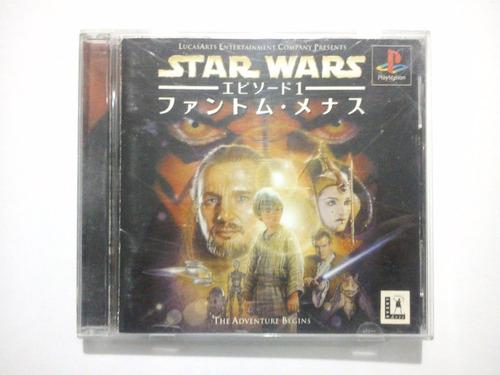 star wars - episode 1 the phantom menace ps1 playstation 1