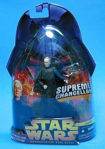 star wars episodio 3 tripack de vader, dooku y el emperador!