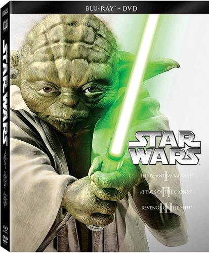 star wars episodios 1 2  3  4  5  6 combo blu-ray + dvd