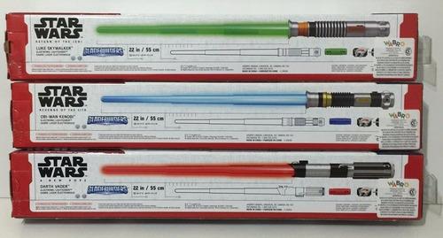 star wars espada electronica con luz y sonido cod b2919