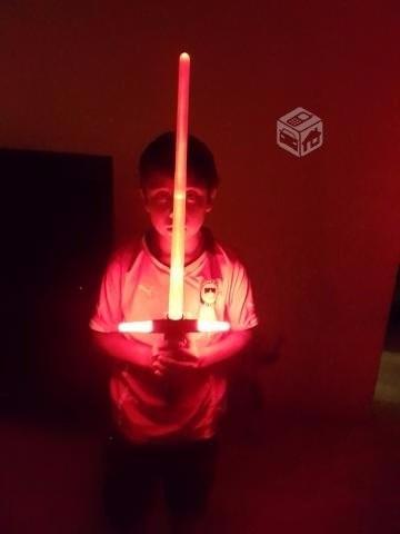 star wars espada láser kylo ren space bat/ con luz y sonido