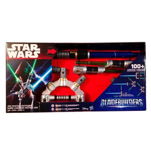 star wars espadas set jedi master blade builders hasbro