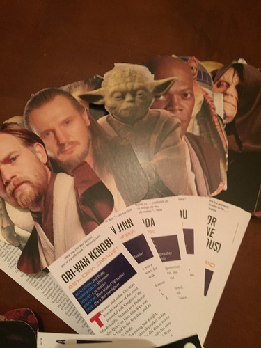 star wars fandex family field guides tarjetas con descripcio