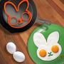 Molde Para Huevo - Modelo Rostro Conejo