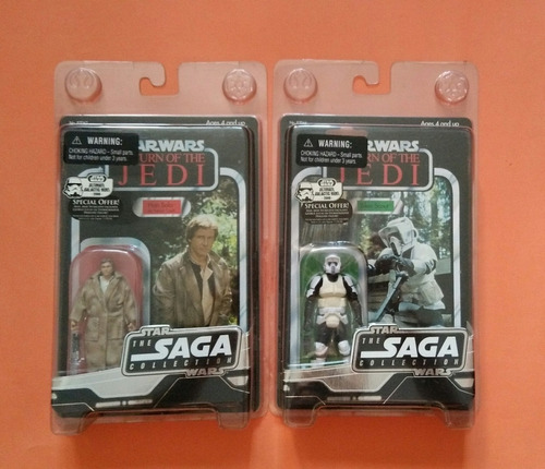 star wars figuras muñeco vintage collection han scouttrooper