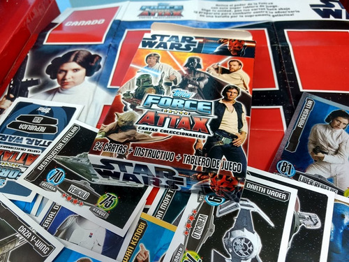 star wars  force attax
