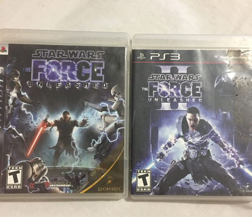 star wars force unleashed 1 y 2 ps3