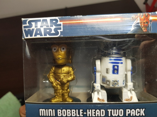 star wars funko mini bobble head two pack traido de eeuu