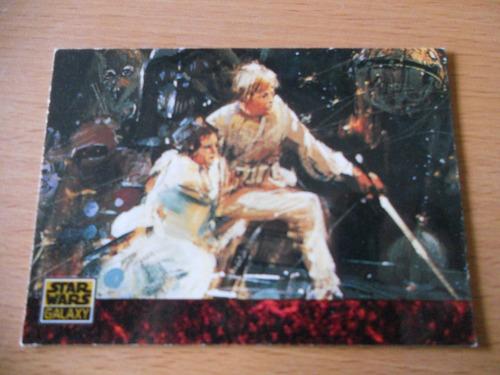 star wars galaxy trading card 4