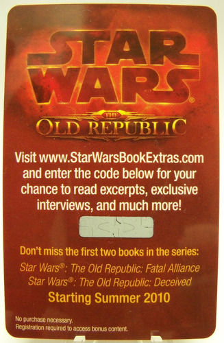 star wars game card