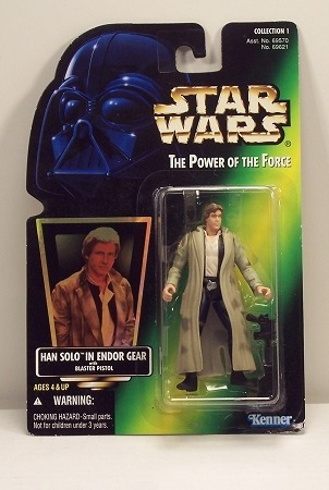 star wars - han solo in endor gear - the power of the force