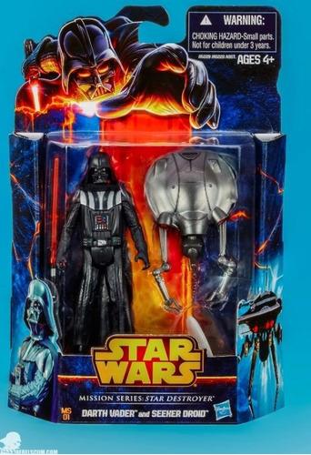 star wars hasbro darth vader and seeker destroy