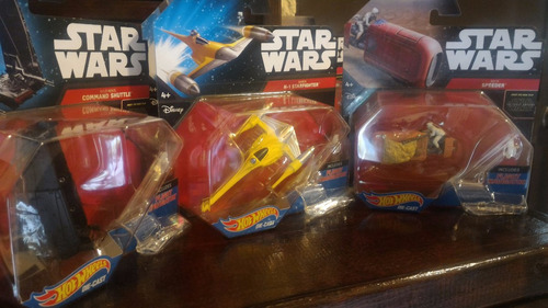 star wars hot wheels die cast naboo n-1 starfighter # 6