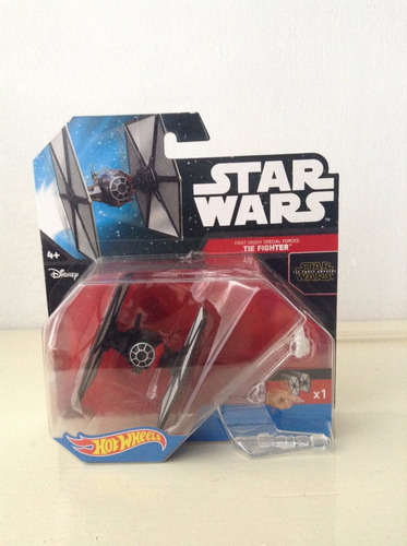 star wars hot wheels tie fighter first order  mininave