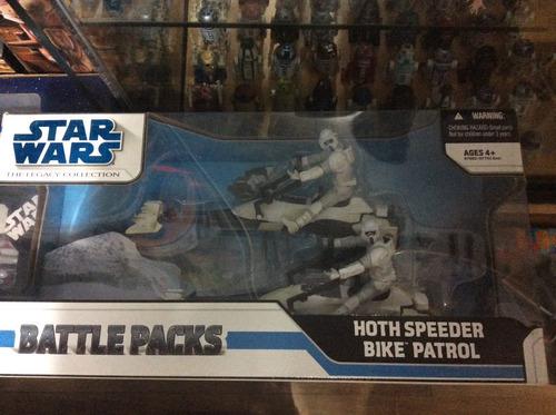 star wars / hoth speeder bike patrol / legacy