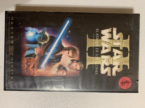 star wars ii el ataque de los clones vhs