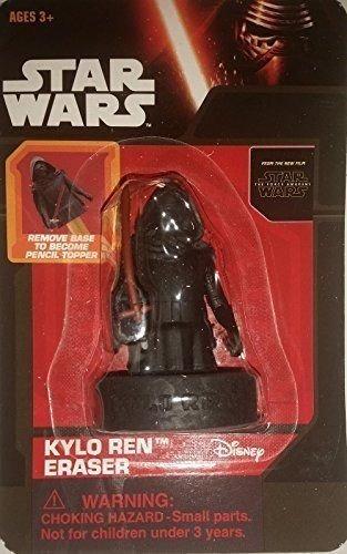 star wars kylo ren figura goma de borrar coleccionable