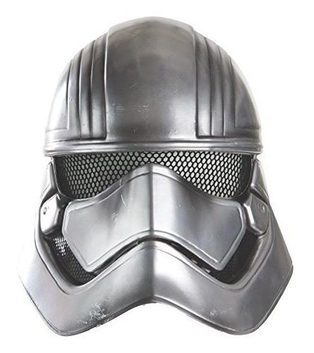 star wars: la fuerza despierta al capitan phasma half helmet
