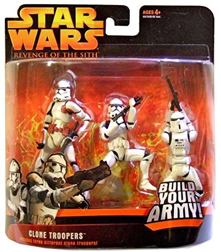 Star Wars La Venganza De Los Sith Rojo Clone Trooper 6