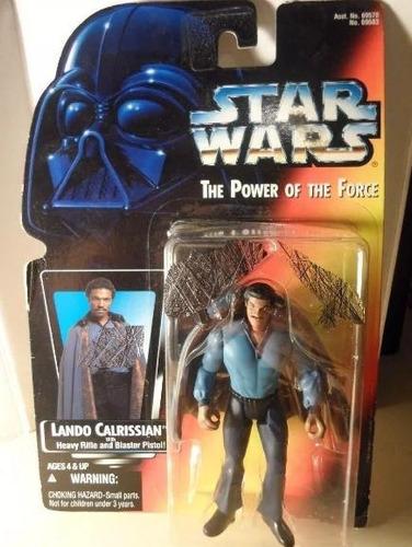 star wars lando calrissian, sellado en su caja.