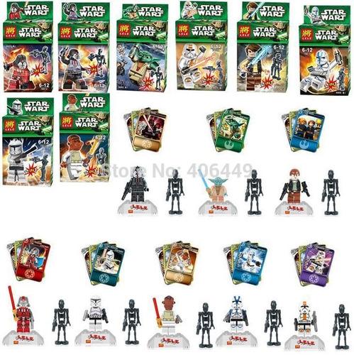 star wars lego alter juguete colección halcón clone trooper