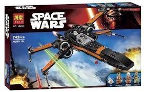 star wars lego alterno x-wing poe dameron interceptor halcón