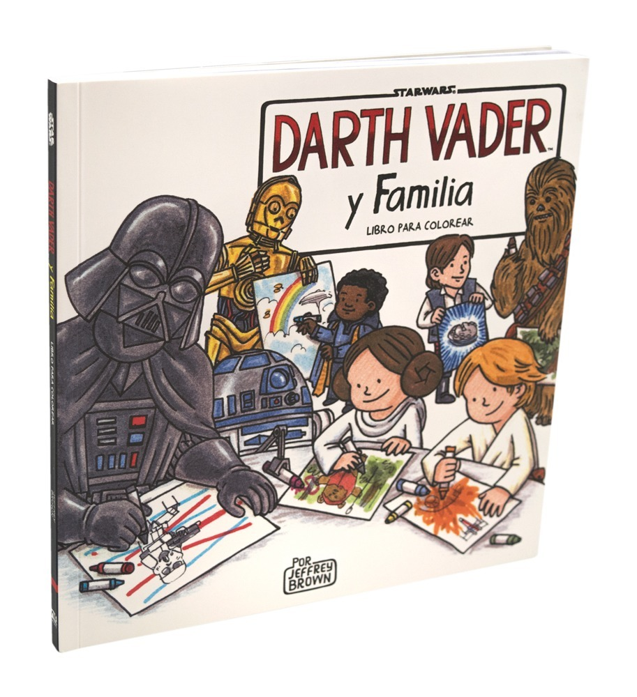 Star Wars Libro Darth Vader Y Familia Para Colorear Novelty ...