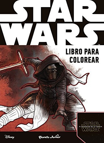 star wars. libro para colorear aa. vv. envío gratis