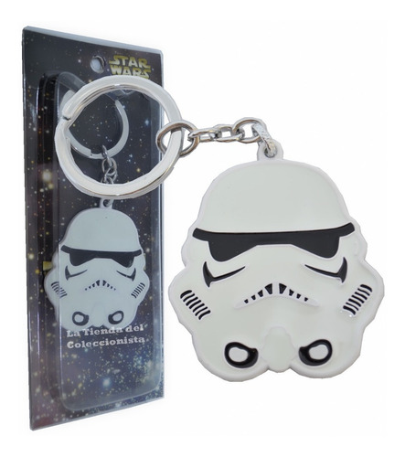 star wars llavero storm trooper metalico