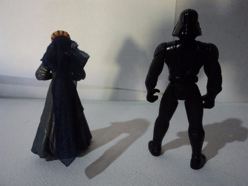 star wars loose lote darth vader 90s & breha organa 2004