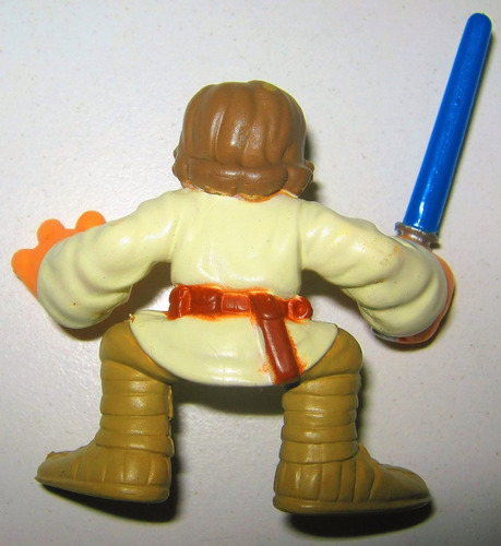 star wars luke skywalker hasbro articula mano / espada