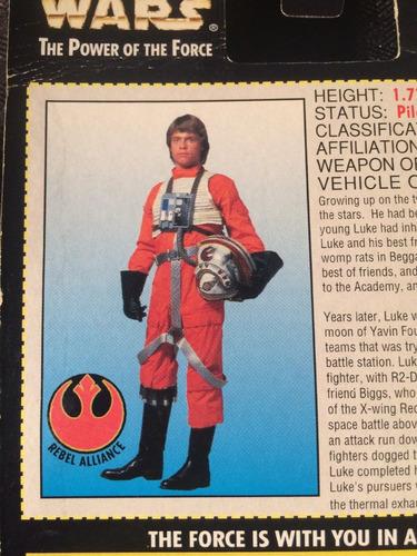 star wars luke skywalker in x wing fighter pilot gear kenner