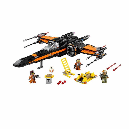 star wars marca bela x wing fighter nave poe compatible lego