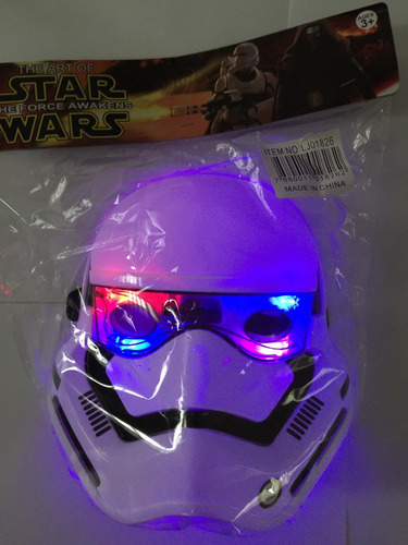 star wars máscara valor unitário