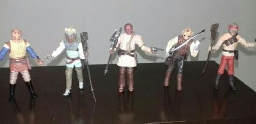 star wars mercenarios vintage skiff guard