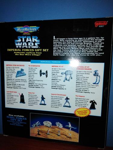 star wars micro machine fuerzas imperiales exclusivo emperad