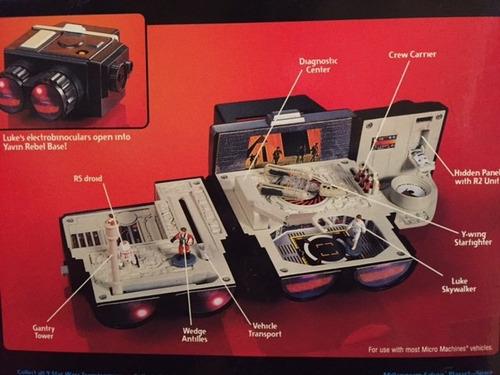 star wars micromachines - binoculares luke