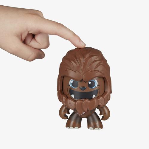 star wars mighty muggs chewbacca #2 e2109 cambia de cara