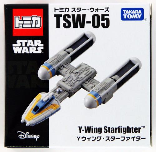 star wars miniatura y wing starfighter takara tomy