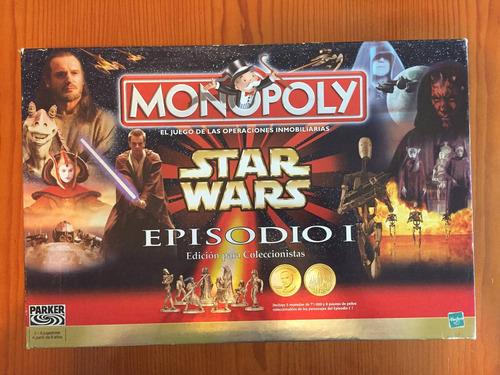 star wars monopoly episodio 1 juego completo