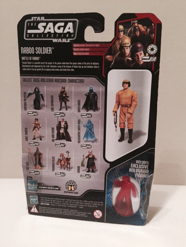 star wars naboo soldier the saga collection