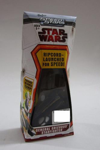 star wars nave general grievous starfighter lanzador hasbro