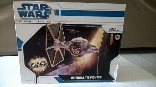 star wars nave imperial tic fighter coleção legado px previe